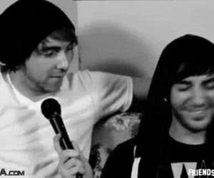 alex gaskarth, all time low, and gif image