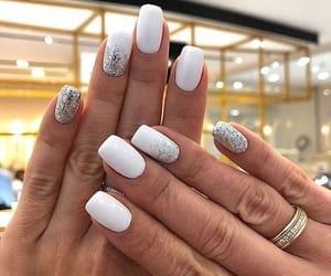 fashion, nail polish, and woman image