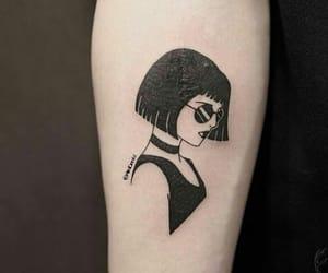 tattoo and leon-mathilda image
