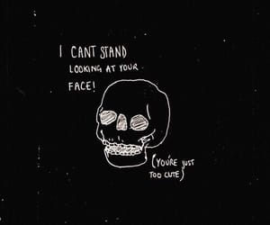 quotes, black, and cute image
