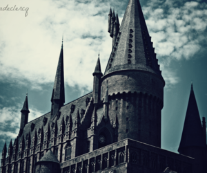awesome, castle, and harry potter image