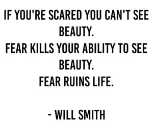 beauty, fear, and life image