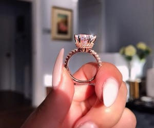 accessoires, ring, and wedding image