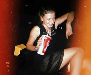 cinema, girl, and happiness image
