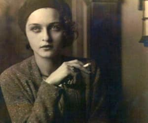 woman, old, and vintage image