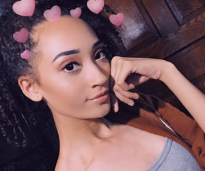 beauty, instagram model, and curly hair image