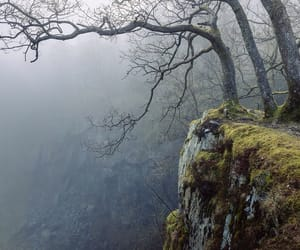 cliff, mist, and nature image