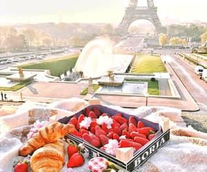 paris, croissant, and breakfast image