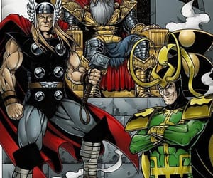 comics, thor odinson, and Marvel image