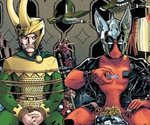 comics, deadpool, and Marvel image