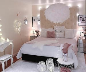 girl, bedroom, and room image