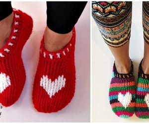 crochet and slippers image