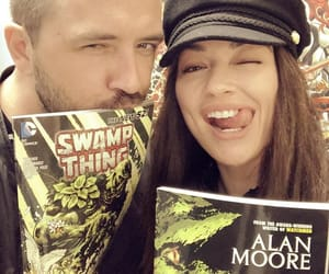 swamp thing and crystal reed image