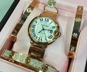 luxury, cartier, and watch image