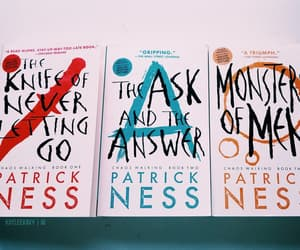 books, tom holland, and chaos walking image