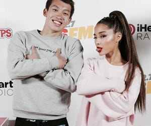 fan, WITH, and ariana image