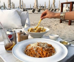 delicious, dinner, and italy image