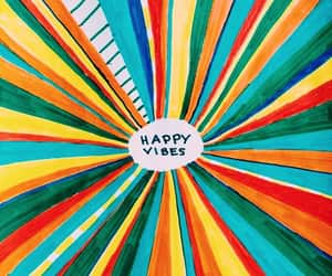 happy, vibes, and colors image
