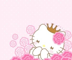 background, kawaii, and kitty image