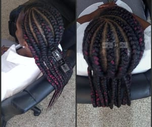 braids, cornrows, and braidstyle image