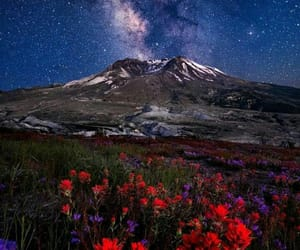 landscape photography, milky way, and night photography image