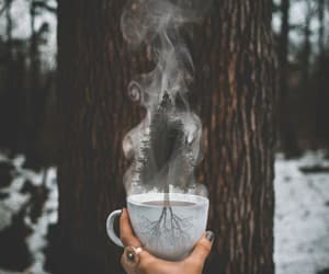winter, coffee, and photography image