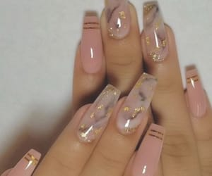 coffin, fashion, and nails image