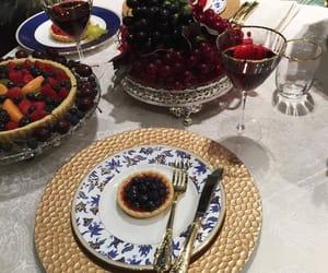 cafe, desserts, and fruit image