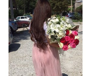flowers, girl, and dagestan image