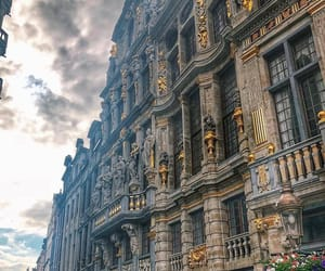 architecture, belgium, and brussels image