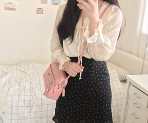 bag, style, and blouse image