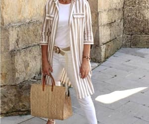 striped chemise neutral image
