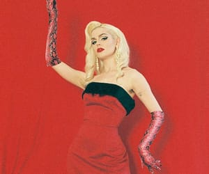 blonde, gloves, and marylin monroe image
