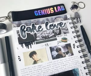 bullet, journal, and fake love image