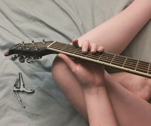 music, guitar, and aesthetic image