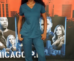 yaya dacosta, chicago med, and april sexton image