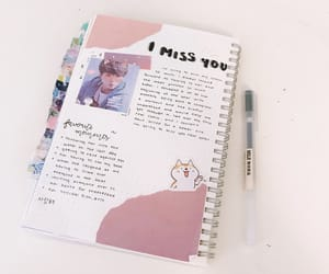 bullet, journal, and kpop image