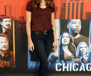 chicago pd, kim burgess, and marina squerciati image