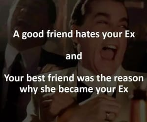 best friends, ex, and friend image
