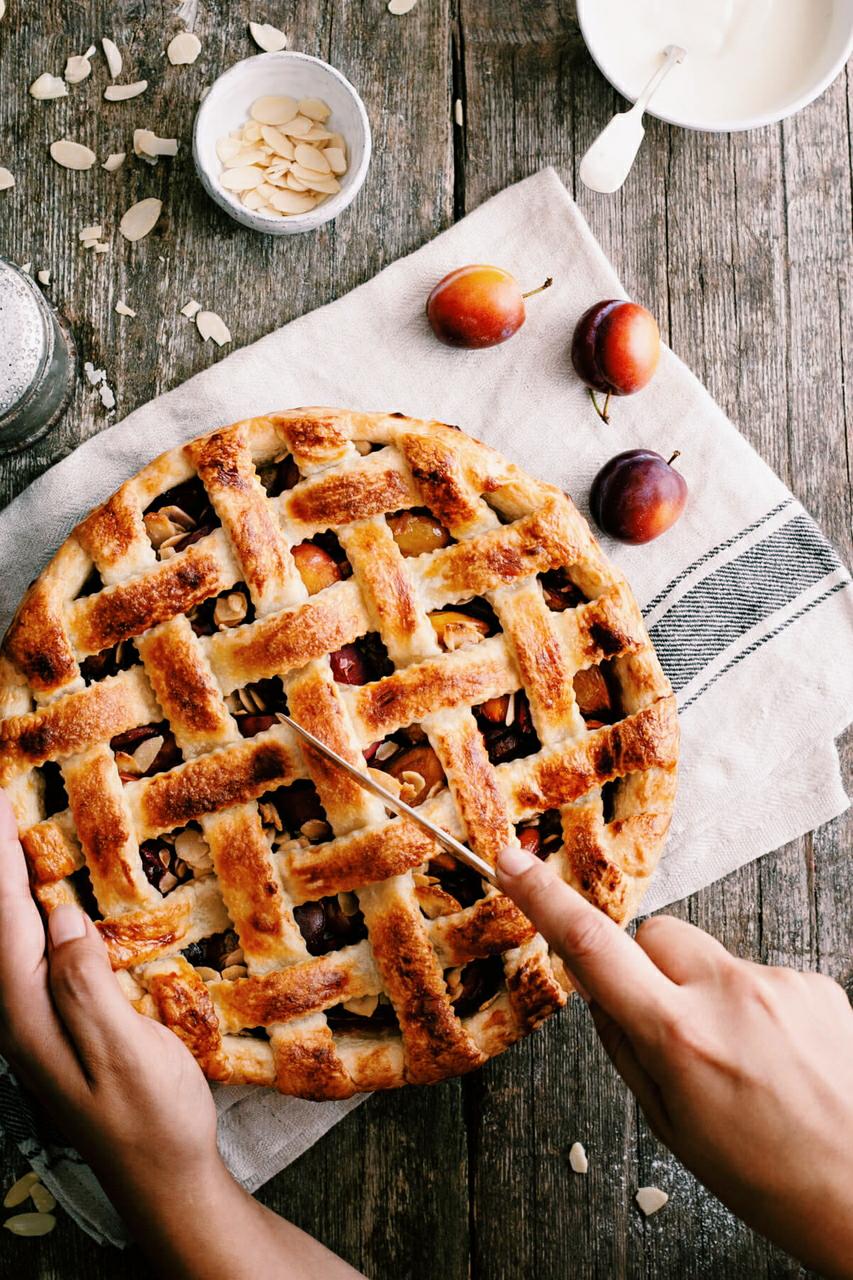 food, autumn, and cake image