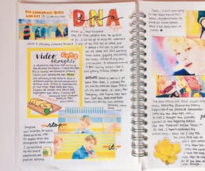 DNA, journal, and kpop image