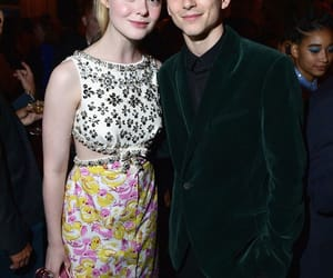 timothee chalamet and Elle Fanning image