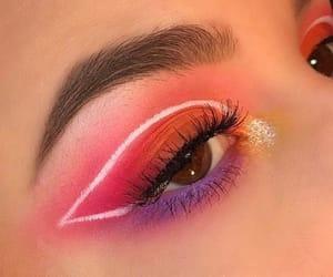 art, eye shadow, and makeup image