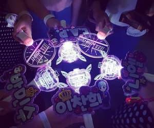 korea, kpop, and light sticks image