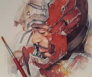 iron man, art, and Marvel image