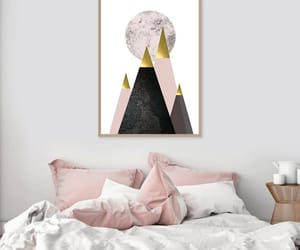 Scandinavian, wall art, and picture wall image