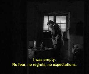 quotes, sad, and black and white image