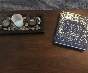 books, happy, and coffee table image