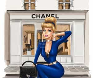 chanel, cinderela, and disney image