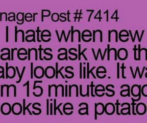 funny, quotes, and kids image